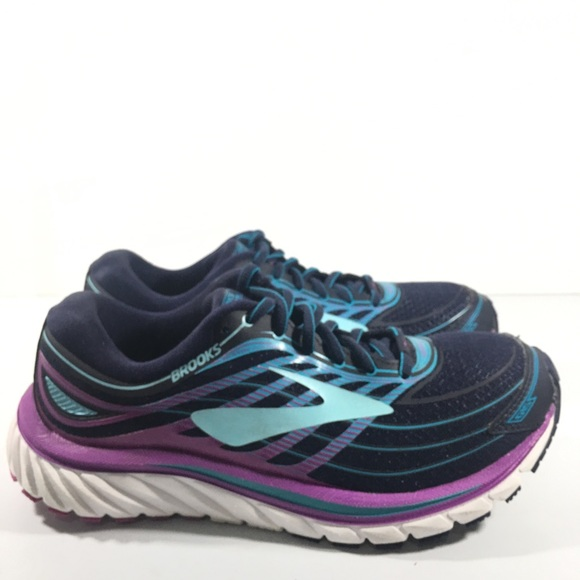 8efce0dc645 Brooks Shoes - Brooks Glycerin 15 hPurple Blue Black Running Shoe